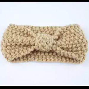 Knitted baby headbands
